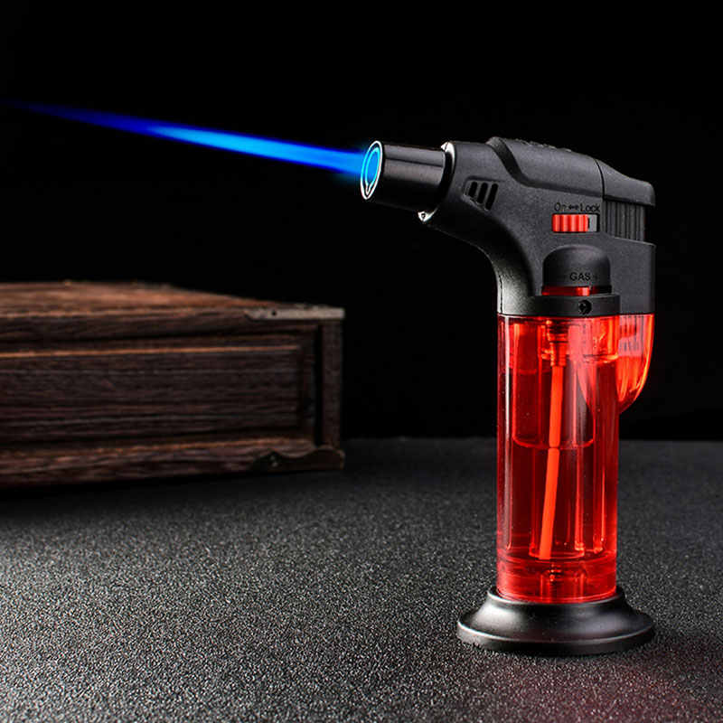 2019 Torch Dapur Butana Ringan Koki Memasak Isi Ulang Adjustable Flame Lighter BBQ Pengapian Spray Gun Lokasi Dapur Alat