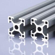 2pcs/lot 3030 Aluminum Profile 3030 Extrusion European Standard Anodized Linear Rail Aluminum Profile 3030 CNC 3D Printer Parts