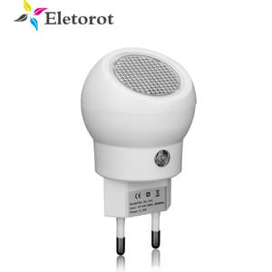 2019 LED Night Light 360 Rotation EU US Plug Sensor Night Lamp With Light Sense Automatically Switch On Or Off For Baby Bedroom