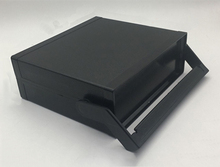 font b Electronic b font Plastic Shell Cartridge Handle Project Junction Case Desk Instrument 200x175x70mm