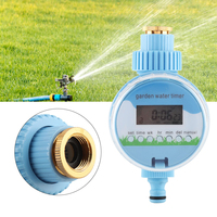 New Arrival Electronic Smart Garden Auto Water Irrigation Timer Controller Sprinkler with LCD Display Garden Watering Tools