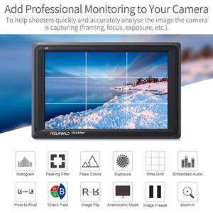 Image 4 - Feelworld FW279 7 인치 울트라 브라이트 2200nit DSLR 카메라 필드 모니터 4K HDMI 풀 HD 1920x1200 LCD IPS 고휘도 모니터