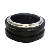 FD Z Lens Mount Adapter Ring for Canon Old FD Lens and Nikon Z System Z7 Z6 Camera Body Adaptor FD NZ