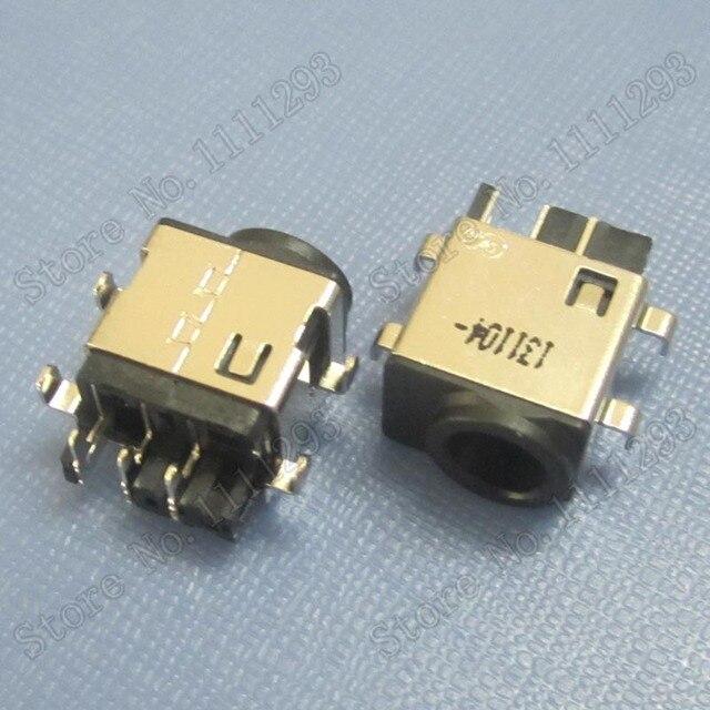 10 pz/lotto DC Jack di Alimentazione Connettore per Samsung RC420 RC512 RC520 RC720 RF711 470R5E 450R4Q 450R4V 450R5U 450R5V 450R4J 450R5J