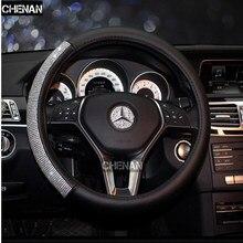 37586a3b6 Novo Estilo de tampa da roda de direcção do carro durante Todo o ano pode  usar sport Auto Car volante de Diâmetro 36