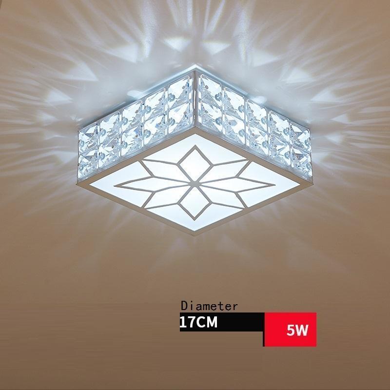 celling industrial decor colgante moderna lustre for living room luminaria teto crystal lampara de techo led ceiling light in Ceiling Lights from Lights Lighting