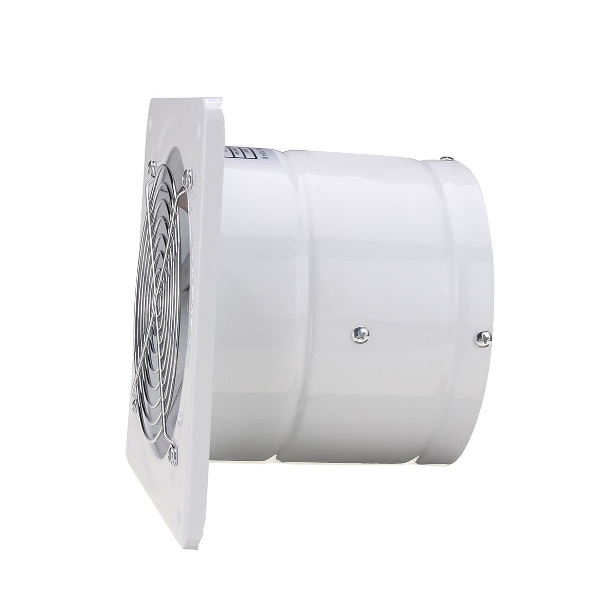 6 Inch 220V 40W Duct Booster Vent Fan Extractor Exhaust Fan Air Ventilation  Fans Wall Window For Home Toilet Bathroom Kitchen