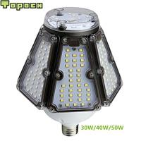 Topoch Industrial Bulb Lamp UL CE 30W 40W 50W 120LM/W Mogul Base 100 277V HID CFL Retro for Canopy Garden Post Top Bay Fixtures|LED Bulbs & Tubes|   -
