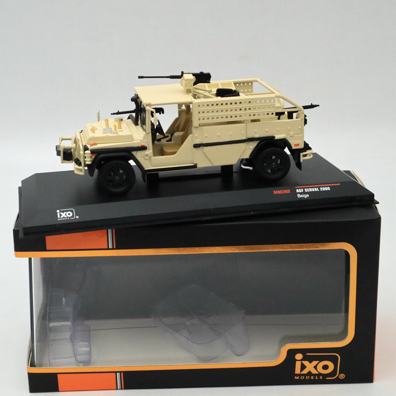 IXO 1 43 AGF SERVAL 2006 BEIGE MOC202 Limited Edition Collection Toys Car Diecast Models