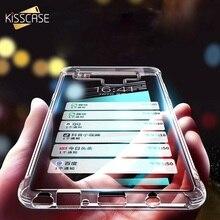 KISSCASE Air Bag Phone Case For Samsung Galaxy S10 S10E S8 PLUS S7 Super TPU Soft Note 9 8 S9  Funda