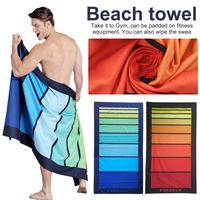 Large Beach Towel for Adult & Polyester Printing Quick drying Travel Sports towel Blanket Bath Swimming Pool Camping Swim Towels
