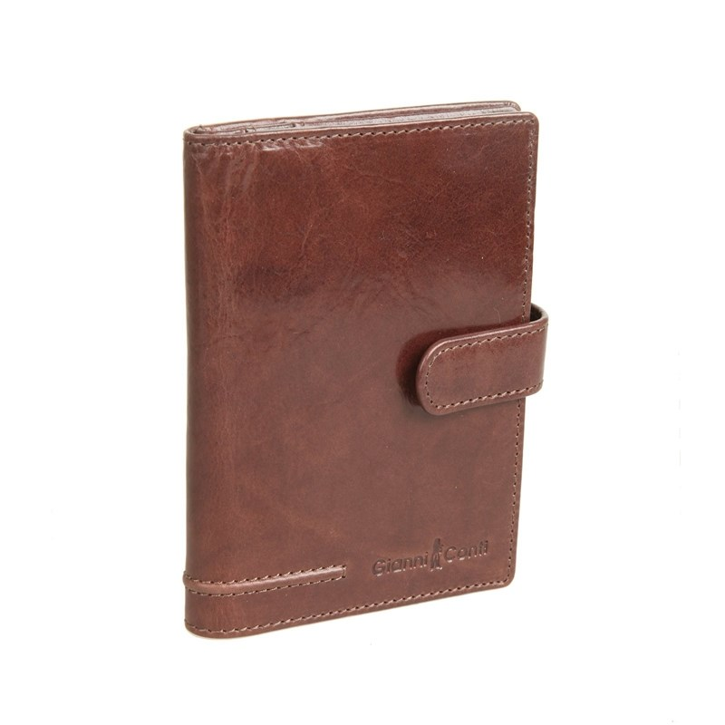 Cover for avtodokumentov and passport Gianni Conti 708454 Brown passport cover o 23 sh brown