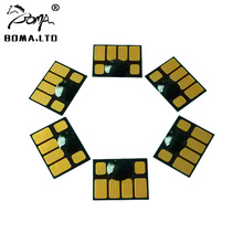 5 Sets Resettable Cartridge Chip For HP83 Use For HP Designjet 5000 5000pc Printer boma team hp81 hp83 hp705 large format refill ink cartridge for hp designjet 5000 5100 5500 ps 5500 plug plotters without chip