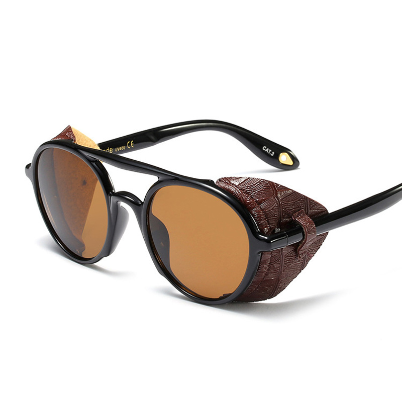 Girls Ladies Steampunk Sunglasses Women 2019 Luxury Brand Vintage Sun Glasses Steam Punk Goggles Gafas Oculos De Sol Feminino