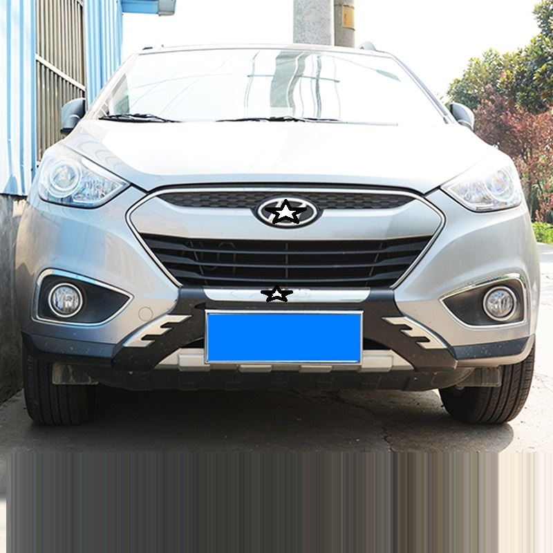 Decoration Exterior Parts Mouldings Front Tuning Lip Rear Diffuser Car Bumpers 09 10 11 12 13 14 15 16 17 18 FOR Hyundai IX35 in Bumpers from Automobiles Motorcycles