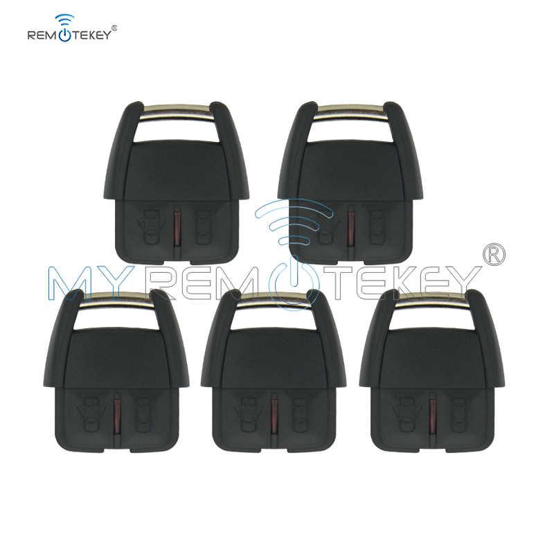 Remtekey 5 pièces 93176615 pour Opel Vauxhall Holden Astra G Zafira A 2000 2001 2002 2003 2004 voiture clé fob 2 bouton 433Mhz clé à distance