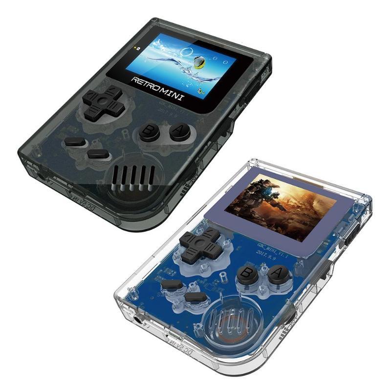 VAKIND Rétro Jeu Console 32 Peu Portable Mini Handheld Game Player Intégré Dans 169 Jeux 2