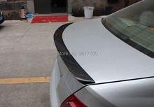 Спойлер для багажника из углеродного волокна подходит benz c