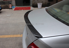 цена на Carbon Fiber Trunk Spoiler Fit For BENZ C Class W204 Rear Wing Of The AMG Style 2007-2013