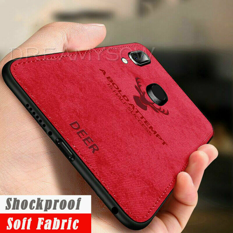 Deer Cloth Silicon Phone Case For Samsung Galaxy S10e S10 Plus S8 S9 Plus M20 A30 A50 A6 Plus A8 A7 A750 2018 Soft Fabric Cover