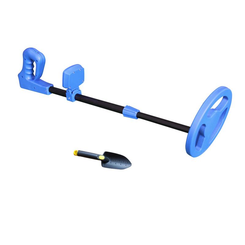 Kids Metaaldetector Md-1011 Lichtgewicht Junior Metal 6.5 Inch Waterdichte Diepte Detector Met Grote Back-lit Lcd Display