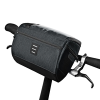 ROSWHEEL 111459 3L Capacity Bike Front Handlebar Bag Bicycle Basket