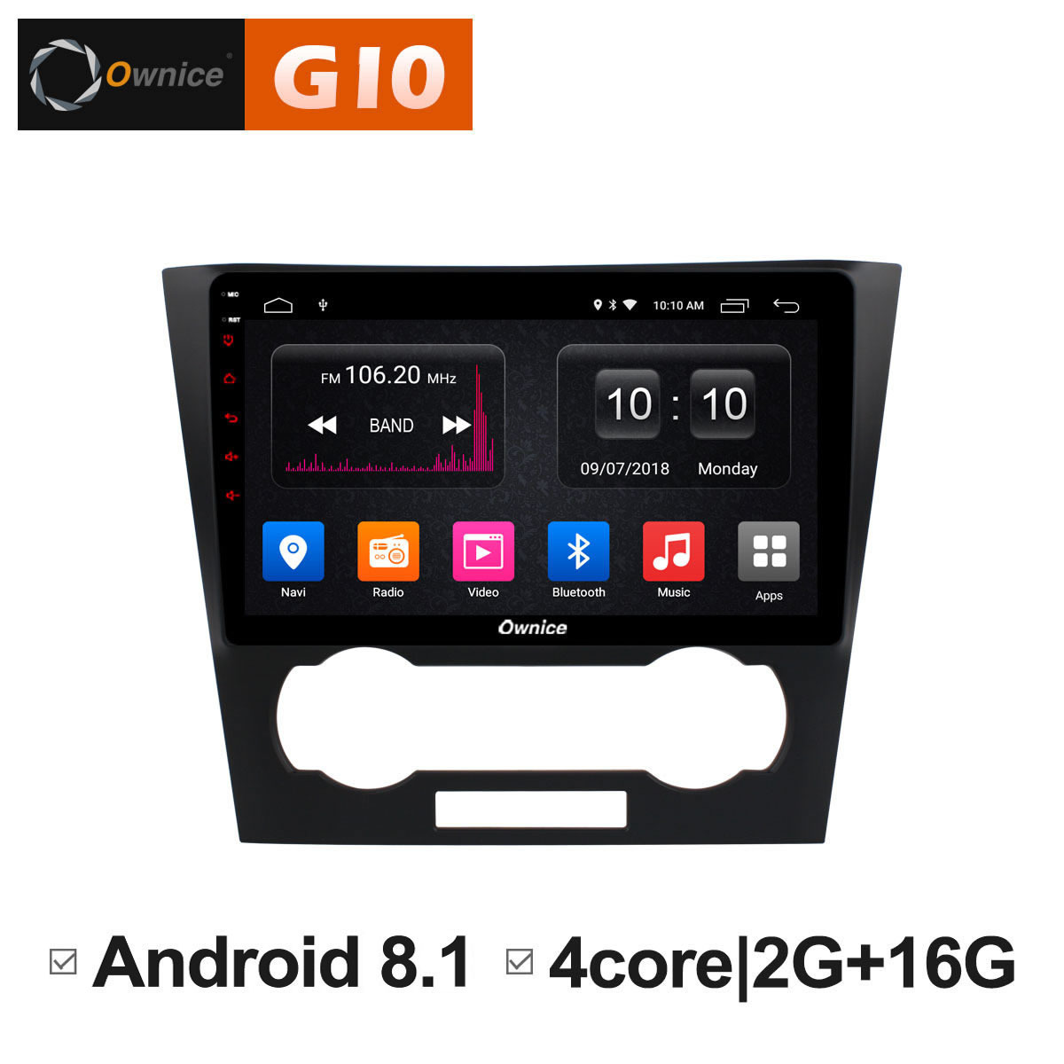 Android 8.1 Car DVD Radio GPS Audio Stereo Intelligent Multimedia Player For Chevrolet Epica 2006 2007 2008 2009 2010 2011 2012