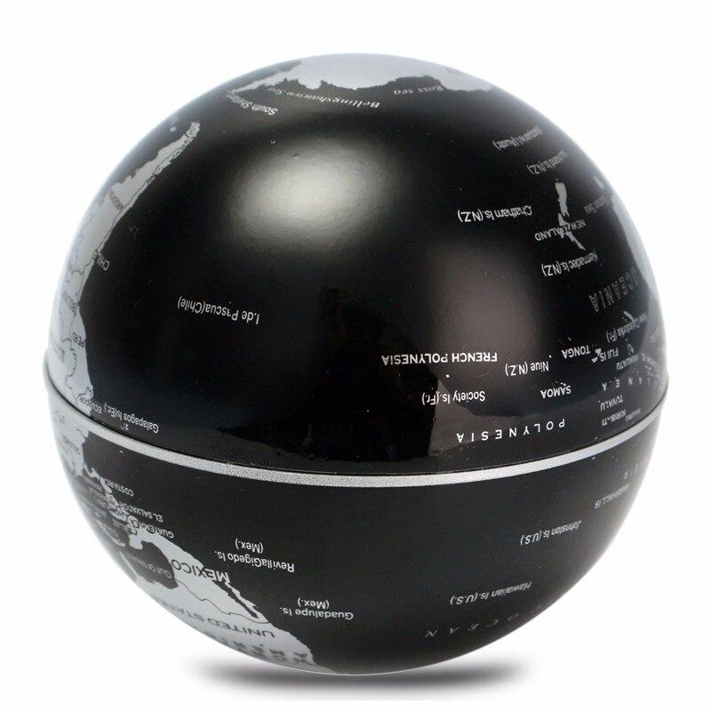 C Shape LED World Map Decoration Magnetic Levitation Floating Globe School  Geography Teaching Resources Home Office Decor Gift