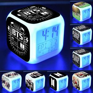 KPOP BTS Cubic Digital Alarm C
