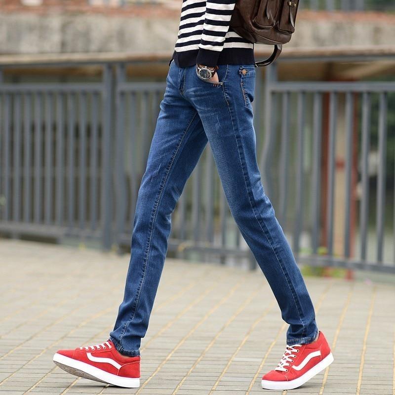 Zollrfea Hot Mens Winter Blue Fleece   Jeans   Lined Stretch Denim Warm   Jeans   For Men Designer Slim Fit Brand Pants   Jeans   CB0014