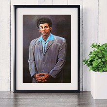 Seinfeld Kramer Portrait Artwork Canvas Art Print Painting Poster Wall Pictures For Living Room Decorative Home Decor No Frame