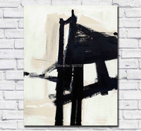Large Size Oil Painting Franz kline light mechanic Wall Art Canvas Paintings Pictures for Living Room and Bedroom No Frames