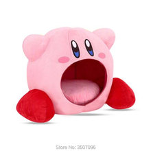 WXCTEAM Japan Anime Kirby Bite Plush Cosplay Dream Land Sleep Pillows Cage