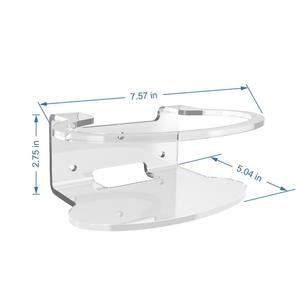 Image 5 - Soporte de pared acrílico transparente para enrutador, Netgear Orbi soporte resistente para, WiFi, para Orbi RBS40, RBK40, RBS50, RBK50, AC2200, AC3000, 3 uds.