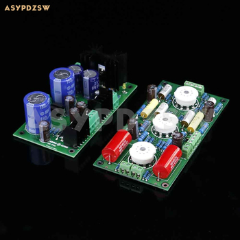 PRT07A 12AX7 Tube preamplifier board+PSU board Base on Marantz 7 (M7) Circuit (No tube)