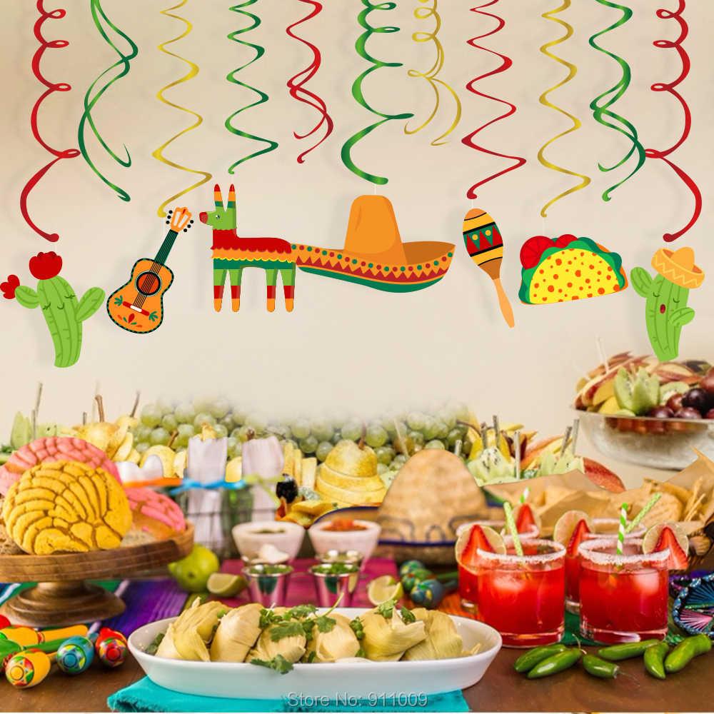 Mexico Cinco de Mayo Party Supplies PVC ...
