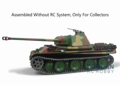 Henglong Gray 1 16 German Jadpanther G Metal Static Tank 3879 Model W O Radio