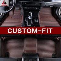 Custom fit car floor mats for VW Volkswagen Jetta Bora A2 A3 A4 A5 A6 Passat CC Golf Tiguan Touareg Teramont Atlas 3D carpet rug