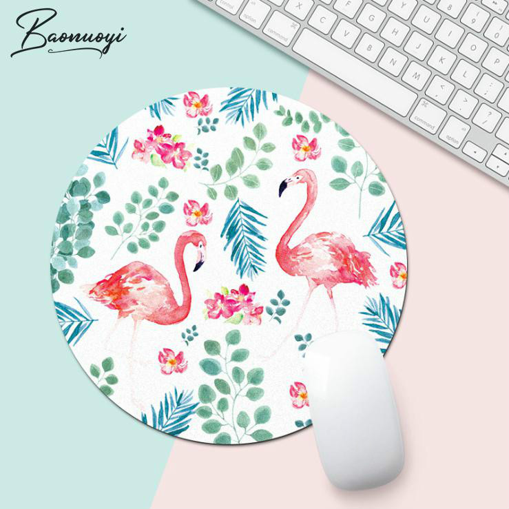Flamingo Office Desk Mat Office Desk Accessories Set School Supplies Office Desk Organizer High Quality Mouse Desk Tools