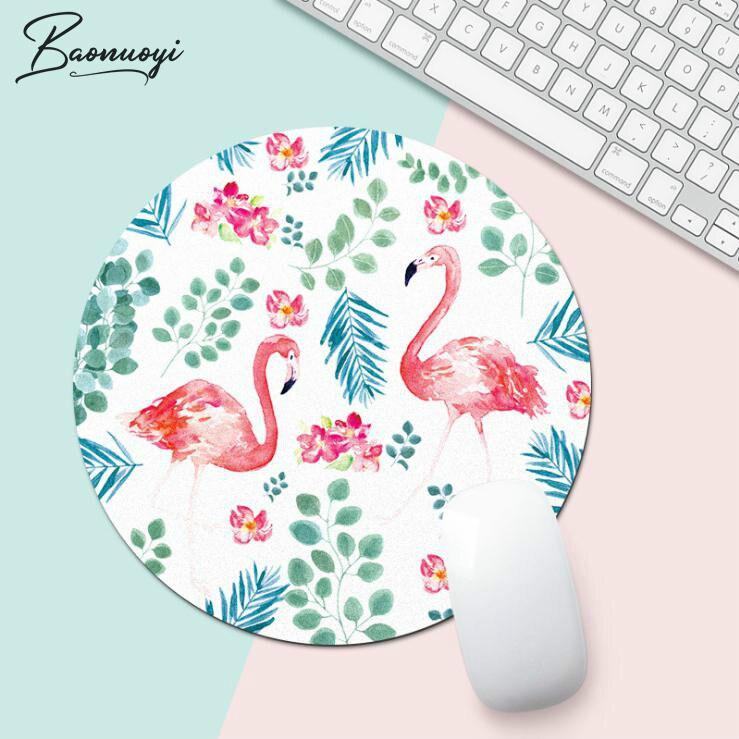 Flamingo Office Desk Mat Office Desk Accessories Set School Supplies Office Desk Organizer High Quality Mouse Desk Tools