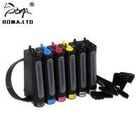 Preservative LED UV Ink Ciss For EPSON 1390 1410 1500 1500W L800 L805 R330 R230 R270 R290 T50 1400 1450 A3 A4 Flatable Printer