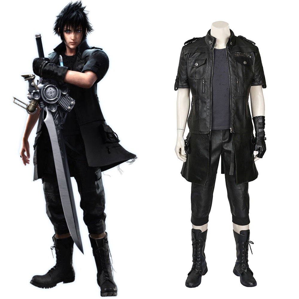 New Final Fantasy XV Noctis Lucis Caelum Cosplay Costume Halloween Outfit