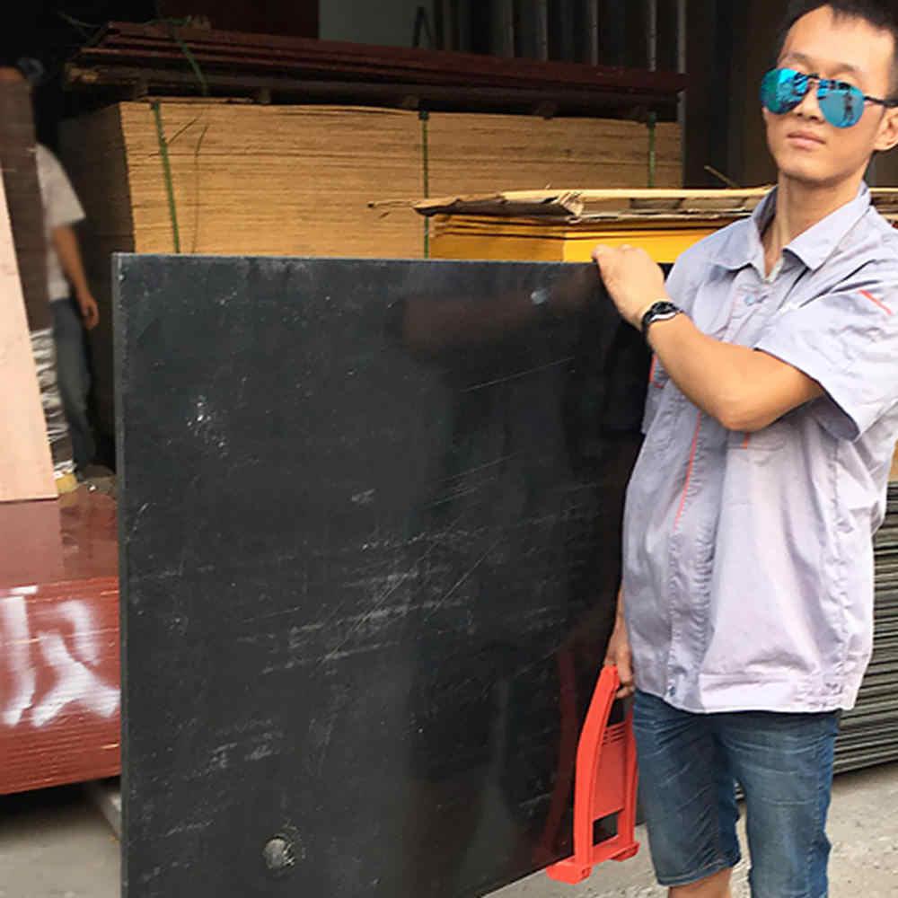 Punho de madeira Ferramenta Painel de Carga Transportadora Pinça Transportar Madeira Compensada Folha do ABS Para O Transporte De Vidro Placa de Placa de Gesso Drywall