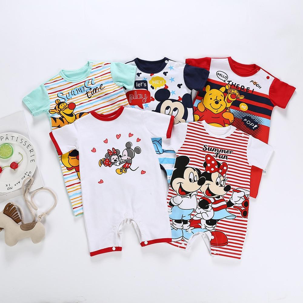 New Cartton Baby   Romper   For Boy Girl Clothes Newborn Bebe Pajamas Jumpsuit Warm Infant Climbing Clothing Roupas De Recem Nascido