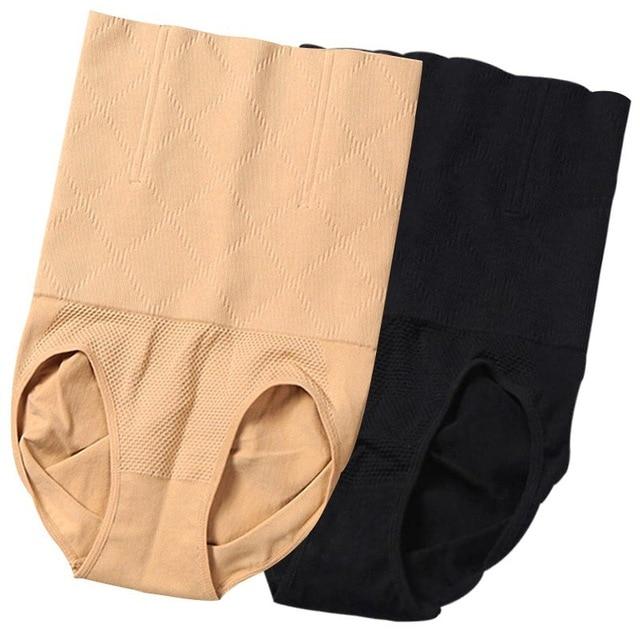 High Waist Shape Wear Panties Women Body Shaper Slimming Tummy Control Underwear Corset Sheath Trainer Panties Shaperwear