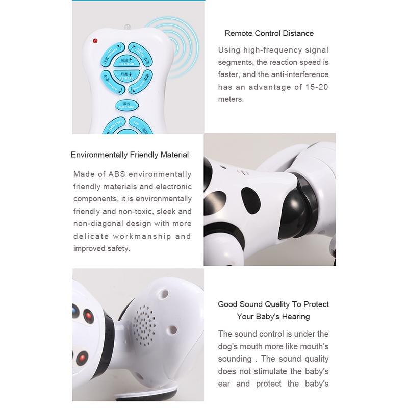 DIMEI 9007A 2.4g télécommande sans fil Intelligent Robot chien enfants jouets intelligents parlant chien Robot jouet électronique pour animaux de compagnie - 6