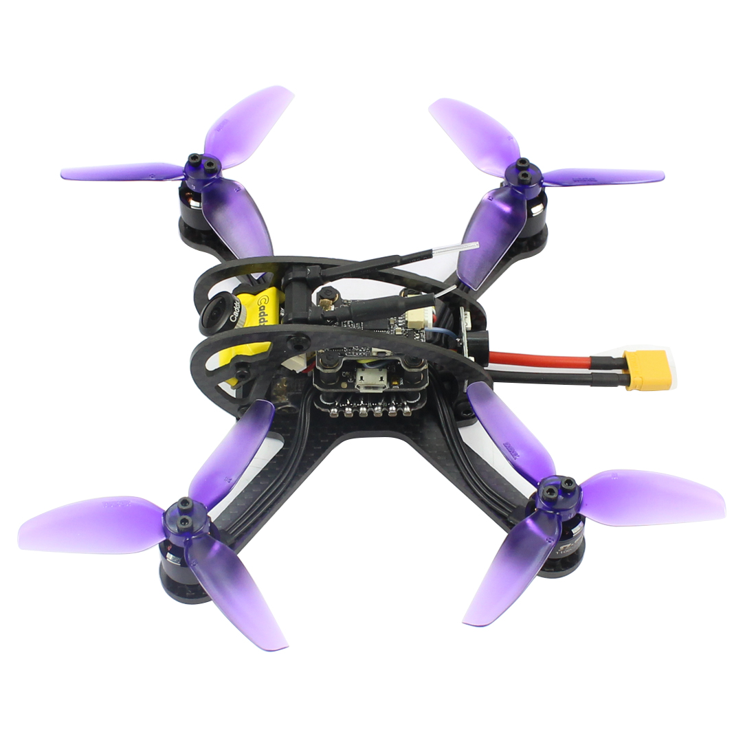 Leader3/3SE 130mm FPV course Drone RC Mini quadrirotor F4 OSD 28A BLHeli_S 48CH 600 mW Caddx Micro F1 PNP/BNF pour FRSKY FLYSKY