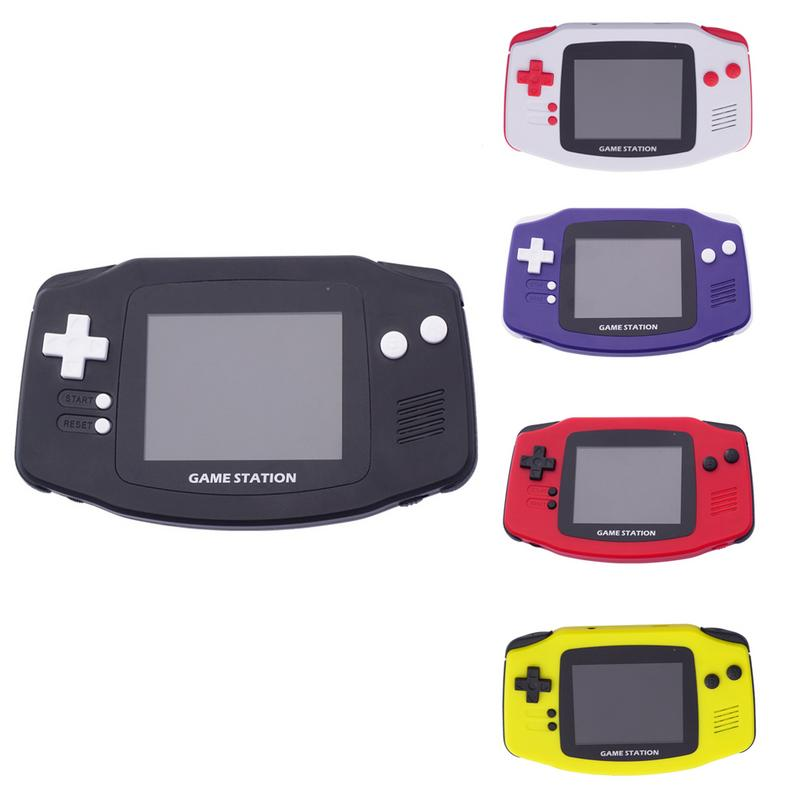 Handheld Game Console For Children Built In 260 Classic Old Video Games Color Screen Retro Arcade Player Kids Gamepad Gift