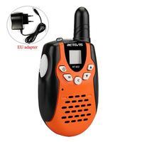 2pcs Children Walkie Talkie For Kids Retevis RT602 0.5W PMR PMR446 FRS PTT VOX Flashlight Rechargable Battery 2 Way Radio RT 602