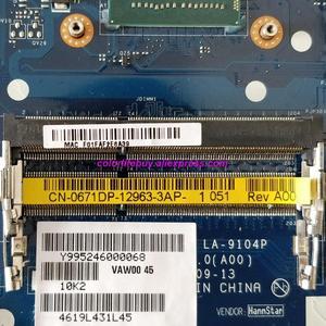 Image 3 - אמיתי CN 0671DP 0671DP 671DP VAW00 LA 9104P 2117U מחשב נייד האם Mainboard עבור Dell Inspiron 15R 3521 5521 נייד